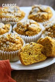 Vegan Pumpkin Muffins No Oil by Turmeric Carrot Muffins With Chia U0026 Coconut Vegan Richa