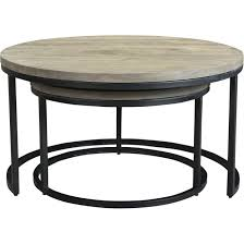 Aurelle Home Industrial Round Nesting Coffee Tables (Set Of 2) Nesting Tables Set Of 2 Havsta Gray Josef Albers Tables 4 Pavilion Round Set Zib Gray Piece Oslo Retail 3 Modern Reflections In Blackgold Two Natural Pine And Grey Zoa Nesting Tables Set Of Lack Black White Contemporary Solid Wood Maitland Smith Faux Bamboo