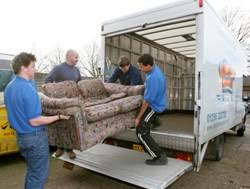 The process of donating furniture