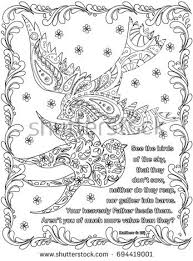 Bible Verses Coloring Book Page