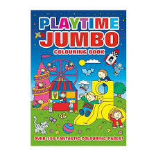 Playtime Jumbo Colouring Book Toys R Us