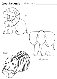 Best Baby Lion Coloring Pages Haberfast Com Zoo Animals Para Colorear