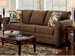 Dark Brown Sofa Living Room Ideas by Chocolate Brown Velvet Sofa Decorating Ideas