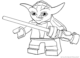 Yoda Star Wars Coloring Pages 4 5