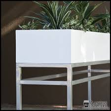 fice Planters on Metal Plant Stands