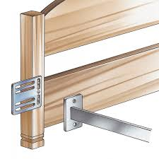 good queen size bed rails for headboard and footboard 40 in