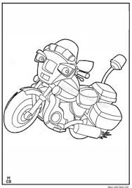 Motorcycle Clubs Colour Book Police Batman Motorcycles Coloring