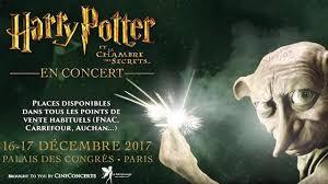 harry potter et la chambre des secret en harry potter et la chambre des secrets en ciné concert les 16 et 17