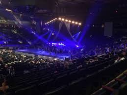 Madison Square Garden section 105 home of New York Rangers New