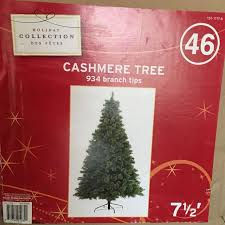 7 1 2 Foot Cashmere Christmas Tree