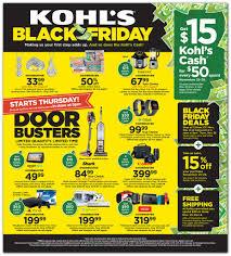 Kohl's Black Friday 2019 Ad
