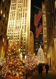 Rockefeller Center Christmas Tree Fun Facts by Christmas Tree In New York Christmas Lights Decoration