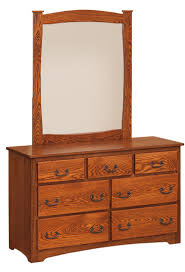 Tiger Oak Serpentine Dresser by Oak Dresser Mirror Bestdressers 2017