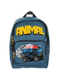 100 Monster Truck Backpack Animal Childrens Sidekick TealMulti At John Lewis