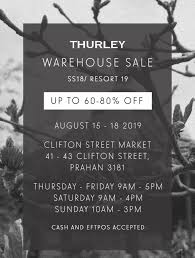 100 Designer Warehouse Sales Melbourne THURLEY MELBOURNE WAREHOUSE SALE 15 18 AUGUST Couturingcom