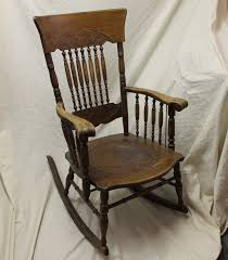 Antique Oak Armed Pressback Rocker - Leather Seat Insert Details About Copper Grove Taber Oak Carved Rocker Chair 25 X 3350 4 Danish Carved Oak Armchair Dated 1808 Bargain Johns Antiques Victorian Antique Rocking Vintage Childs Rocking Chair Ssr Childs Hand Elephant In So22 Sold Era With Leather 1890s Ornate Lift Glastonbury Armchair 639070 Larkin Soap Company Ribbon Back Wainscot Second Half 17th Century Isolated
