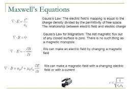What Are Maxwells Equations