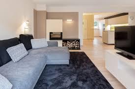 renovierung umbau wohnhaus minimalistisch wohnzimmer