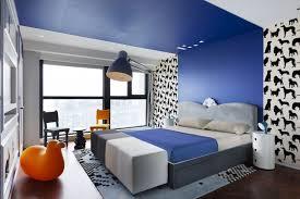 decoration chambre peinture appartement chinois déco colorée chambre avec bande de peinture