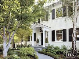 White Dutch Colonial Revival Exterior
