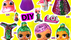 LOL Surprise Dolls Girly Girls CUSTOM Rainbow DRESS DIY Little Mermaid S Lol