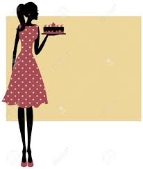 Baking A Cake Clipart