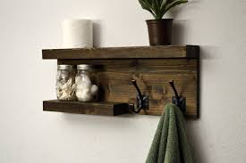 Bathroom Shelf With Towel Bar Wood by Bronze Towel Rack With Shelf Towel Gallery