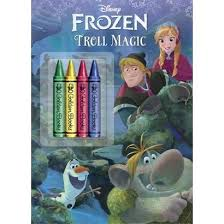 Troll Magic Disney Frozen Color Plus Chunky Crayons