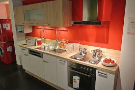 pn 100 supergünstig nur für kurze zeit für einbauküchenzeile weiss im kombination mit sonoma eiche inkl elektrogeräte ohne kühlschrank