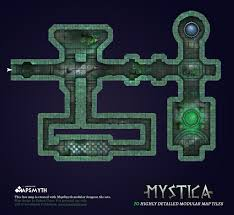 Dungeons And Dragons Tile Mapper by Mapsmyth Modular Dungeon Maps Free Sample Pack Loresmyth