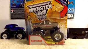 2013 Hot Wheels Monster Jam Excalibur (vintage) 1:64 Diecast Review ...
