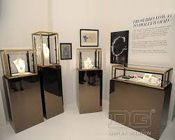 JE35 Portable Wooden Jewellery Display Cabinets For Sale