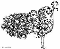 Animal Kaleidoscope Intricate Coloring Pages