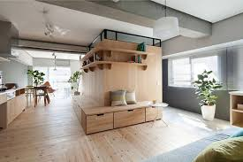 Clever Minimalist Partition Expands 689 Sq Ft Tokyo Apartment