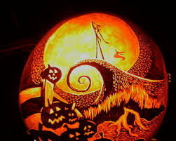 Jack Nightmare Before Christmas Pumpkin Carving Stencils by Gorgeous Image Of Halloween Decoration With Various Predator