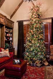 Christmas Tree Toppers Ideas by Christmas Tree Topper In Home Office Traditional With Rustic Den