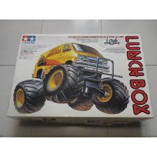 100 Monster Truck Lunch Box Tamiya RC 112 Scale Electric 2 Wheel Drive Van