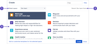 Create and Edit Pages Atlassian Documentation