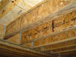 Engineered Wood I Beams Used As Floor Joists In This Picture