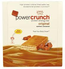 Power Crunch Protein Energy Bar Original Salted Caramel 12 Bars