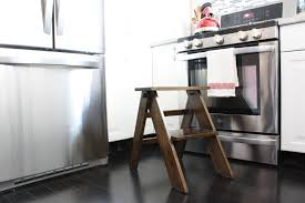 wooden kitchen step stool making kitchen step stool u2013 wigandia