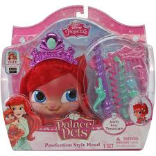Palace Pets Pumpkin Soft Toy by Disney Princess Palace Pets Pawfection Styling Head Ariel U0027s