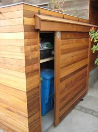 Rubbermaid Vertical Storage Shed by 6x3 Oscar Trash Can Storage Shed Outdoor Living Storage And Yards