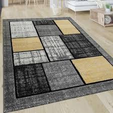 teppiche wohnzimmer teppich grau strapazierfähig stein
