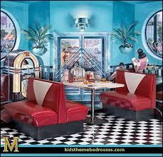 Trendy 60s Coffee Table Decorating Theme Bedrooms Maries Manor 50s Bedroom Ideas Decor 1950s Retro Large