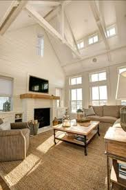 Living Room With Fireplace Design And Ideas That Will Warm You All Winter Vaulted Ceiling