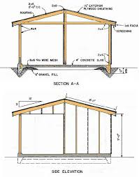 12x16 Wood Storage Shed Plans by Shed Blueprints 12 16 U2013 How To Build A Shed Projects Pinterest