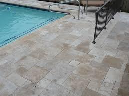 travertine pool patio area traditional exterior