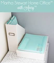 Martha Stewart Home fice with Avery Organization Giveaway