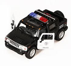 100 H2 Truck Amazoncom 2005 Hummer SUT Police Pickup Red Kinsmart